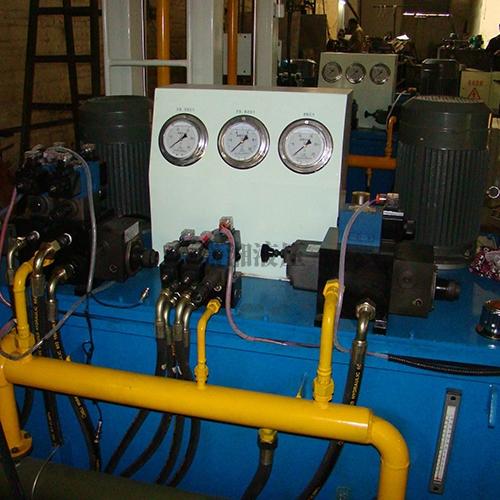 珩磨机液压系统